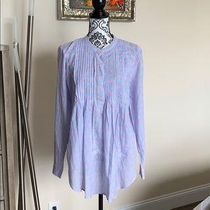 Gap Maternity Tunic Blouse Size L NWT